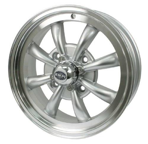 GT-8 Wheel Silver/Polished Lip 4/130 (EP00-9685)