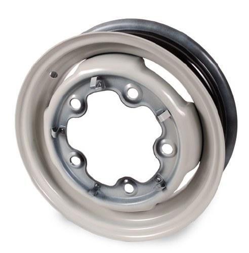 """Bus 15x4.5"""" Steel Wheel Each"""