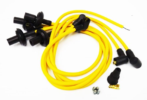 8mm Ignition Wires - Yellow