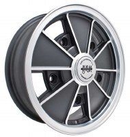 BRM Wheel Matte Black 5/205 (EP00-9675)