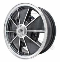 BRM Wheel Gloss Black 5/205 (EP00-9676)