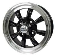 GT-8 Wheel Black/Polished Lip 4/130 (EP00-9682)