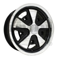 911 Look Wheel Polished/Black 15x4.5 (EP10-1108)