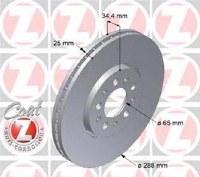 Brake Rotor - Front (100123500)