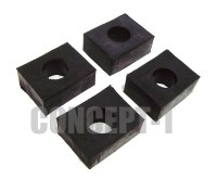 Body Mount Pads Set 17mm