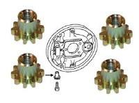 Brake Adjustment Nuts Set of 4
