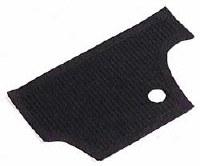 Firewall Mat T1 66-70 BLACK