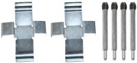 Brake Pad Hard. Kit Van 80-85