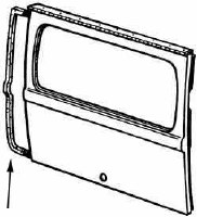 Rear Hatch Seal T2 64-71