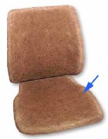 Hair Seat Pad (211881375H-WW)