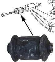 Control ArmBushing Front Lower