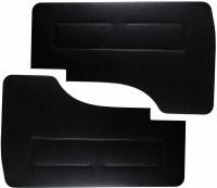 Van Front Door Panels Black