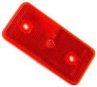 Side Marker Lens Rear Red Ea