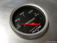 SW Water Temp Gauge 260F