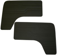 Front Door Panels T2 68-79 BLK
