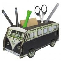 Pencil Holder - Black Bus