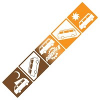 Westy Traveler Decal Orange