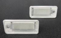Audi LED Lic. Units Pair