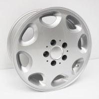 "Alloy 16"" Bus/Van 2WD Wheel Silver"