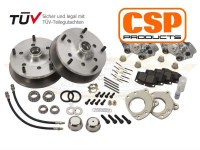 "Disc Brake Kit Bus 55-63 with 14""+ Wheels"