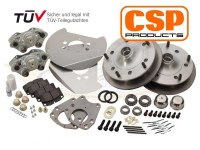 "Disc Brake Kit Bus 55-63 with 15""+ Wheels"