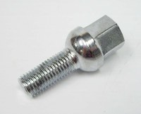 Ball 12 x 1.5 x 28mm Lug Bolt Chrome