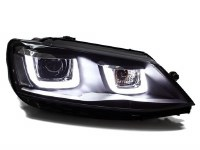 Jetta 6 Double-U Headlights BK