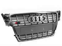Audi A4 B8 S4 Grill GRY/CHR