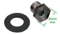 Gland Nut 36mm & Washer