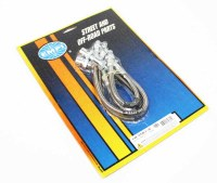 S/S Brake Hose Kit : T1 69+IRS