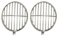 Headlight Stone Guards Stainless Steel