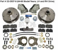 Disc Brake Kit Bus 64-66