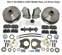 Disc Brake Kit Bus 67