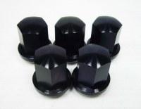 Alum Alloy Lug Nuts Black