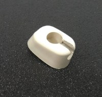 Visor Clips Early White Each