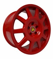 TEMP 18x9.5 5/112 ET 42 RED