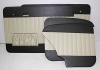65-66 T1 Door Panels Two-Tone