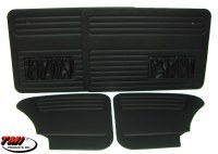 65-77 T1 BLK Door Panels