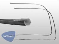 Front Windshield Trim T1 65-77 STD LH & RH - PREMIUM