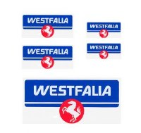Stickers, Westfalia Set