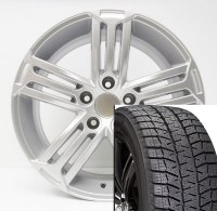 "17"" Winter Wheel Tire Set 013 (BLIZZAK)"