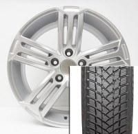 "17"" Winter Wheel Tire Set Q3 & Tig to 2017"