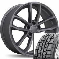 "18"" Winter Wheel Tire Set 002 (BLACKLION)"
