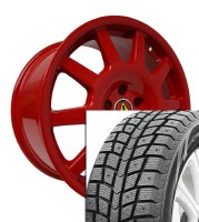 "18"" Winter Wheel Tire Set 007 (BLACKLION)"