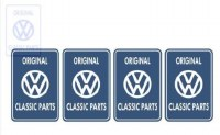 VW Classic Parts Sticker Set