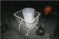 Stow Away Basket - White