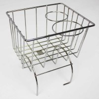 Stow Away Basket - Chrome
