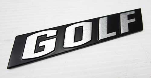 "G1 Emblem ""GOLF"""