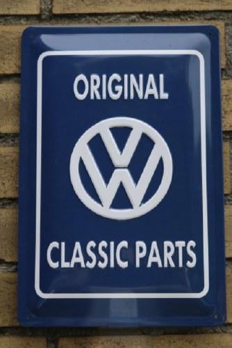 Metal Sign - Classic Parts