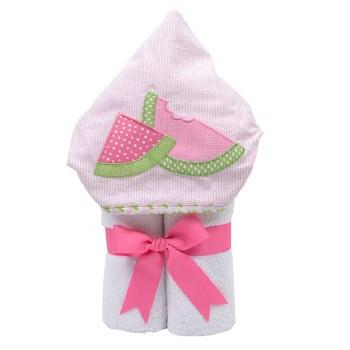 3 Marthas - Hooded Towel - Watermelon Bite